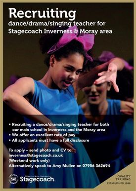Stagecoach Theatre Arts Inverness & Elgin